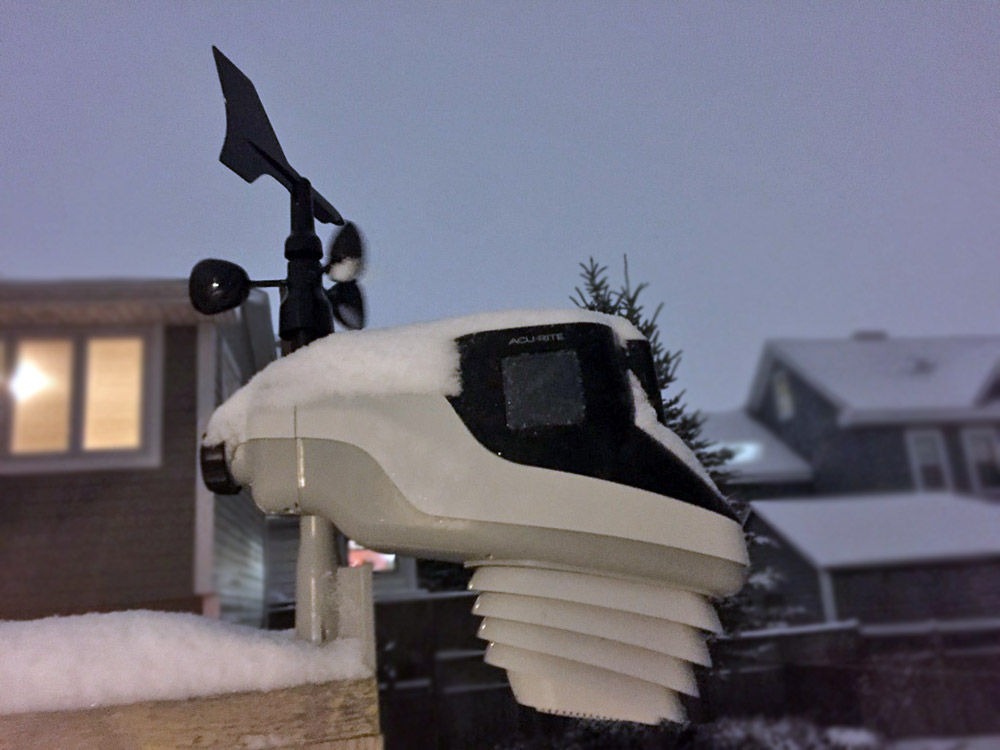 Acurite Atlas in Snow